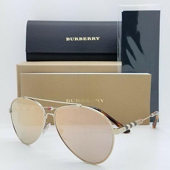 Burberry Aviator Sunglasses BE3092Q 11674Z